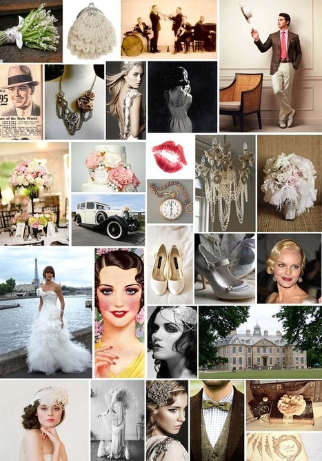 Style & Elegance Kitchener Waterloo Wedding and Event Planning and Coordination - Blog - Inspiration Fridays – On trend with 'something old' - 1920stheme!   Art Decoed   CitadiNet   Scoop.it