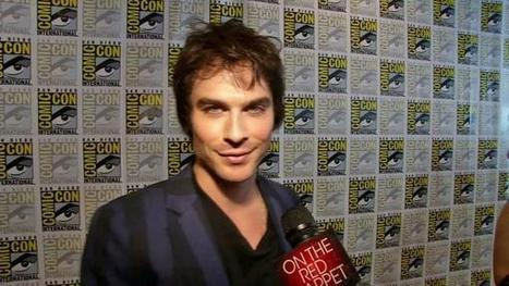 Ian Somerhalder: 'Vampire Diaries' season 4 will be amplified and unpredictable - 07/16/2012 | Entertainment News from OnTheRedCarpet.com | For Lovers of Paranormal Romance | Scoop.it