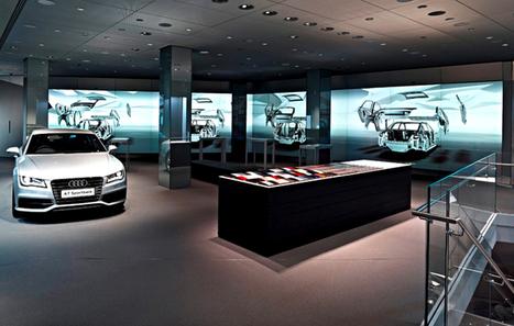 MAGASIN+digital. Audi City, le flagship se met à l'heure du digital | evenementiel et digital, par EVENEMENT+ | Scoop.it