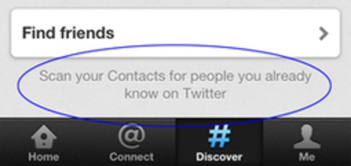 Twitter stores full iPhone contact list for 18 months, after scan | Machinimania | Scoop.it