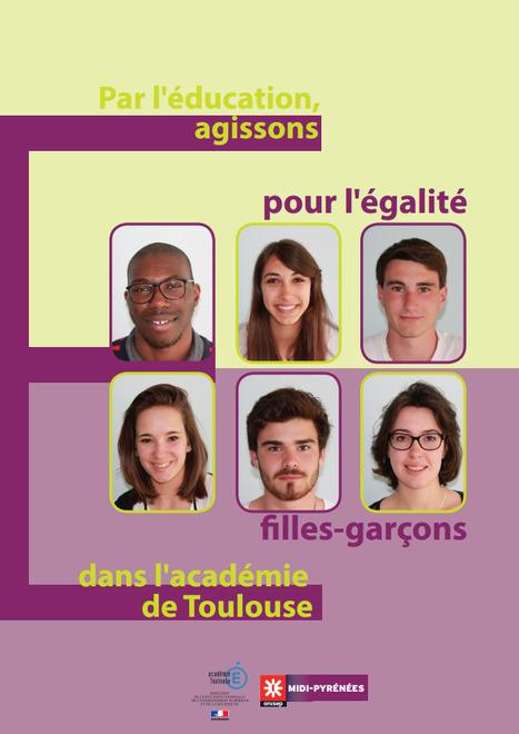 Égalité filles-garçons / femmes-hommes - Académie de Toulouse   Egalité fille-garçon au lycée   Scoop.it