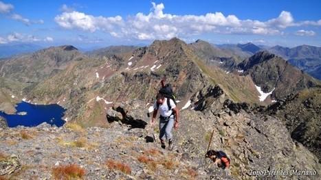 Randonnée Pic de Malcaras (2865m) et Pic de l'Etang Fourcat (2859m) « Les Topos Pyrénées par Mariano | Randonnée et de l'escalade. | Scoop.it