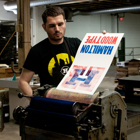Behind the Button: Hamilton Wood Type & Printing Museum | What's new in Visual Communication? | Scoop.it