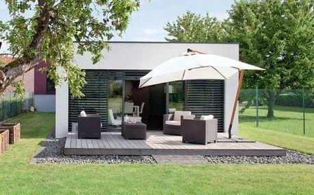 [inspiration] Plan d'une maison sur une terrain en longueur | Idées d'Architecture | Scoop.it