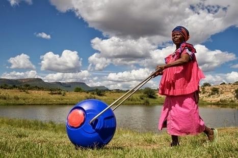 Hippo Water Roller : un bidon roulant pour transporter l'eau facilement | Nouveaux paradigmes | Scoop.it