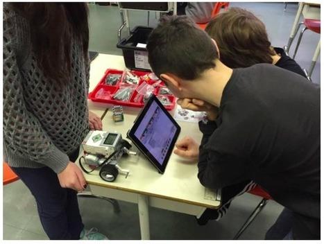 Des élèves de sixième année travaillent la résolution de problèmes grâce à la robotique | METROPOLIS STUFF | Scoop.it