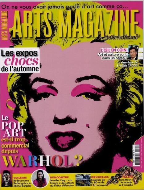 Arts magazine n°3 - novembre -décembre 2016   revue de presse cdi lycée sacré coeur   Scoop.it