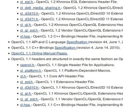 Using OpenCL 1.2 with 1.1 devices - Blog - StreamComputing | opencl, opengl, webcl, webgl | Scoop.it