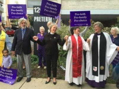 'Thank God for Abortion Providers;' Episcopal and Methodist Clergy Bless Abortion Clinic - Breitbart | Abortion | Scoop.it