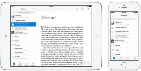 Dropbox reveals iOS 7-inspired iPhone and iPad redesign | iphone | Scoop.it