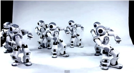 Humanoid Robot Swarm Synchronized Using Quorum Sensing | Heron | Scoop.it