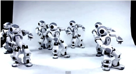 Humanoid Robot Swarm Synchronized Using Quorum Sensing  - Technology Review | Complex Insight  - Understanding our world | Scoop.it