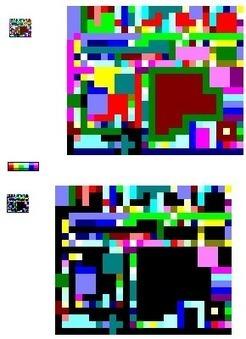 DM's Esoteric Programming Languages - Piet Samples | The Rise of the Algorithmic Medium | Scoop.it