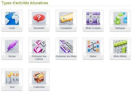 Educaplay: activités interactives | Android Apps for EFL ESL | Scoop.it
