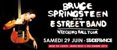 Toutes les dates de la tournée 2013 de Bruce Springsteen (au 20 décembre2012) | Bruce Springsteen | Scoop.it