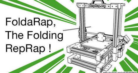 [OuiShareFest] Foldarap rend les imprimantes 3D pliables et ...   curieux   Scoop.it