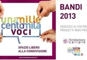 Bandi Cariplo 2013 (scad. varie)   Professione psicologo   Scoop.it