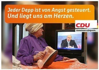 CDU-Wahlplakat-Generator | TITANIC – Das endgültige Satiremagazin | Digitale Gesellschaftspolitik gestalten | Scoop.it