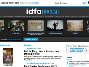 IDFA DocLab   Nouvelles narrations   Scoop.it