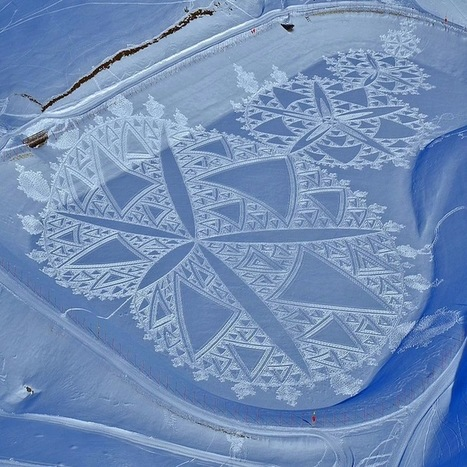Man Walks All Day to Create Massive Snow Patterns (Part 3) | Best of Design Art, Inspirational Ideas for Designers and The Rest of Us | Scoop.it