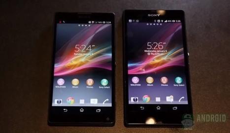Sony Xperia Z vs Sony Xperia ZL.. waterproof vs compact | Mobile IT | Scoop.it