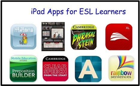 10 Great iPad Apps for Learning English ~ Educational Technology and Mobile Learning | iPads in Education | Scoop.it
