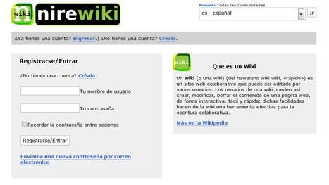 Nirewiki , servicio para crear WIKIS | Recull diari | Scoop.it