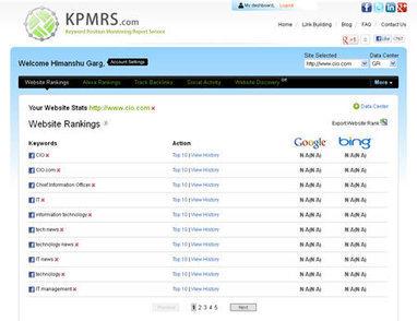 Get Email Alerts When Your Ranks Changes, Ranking Updates, Rank Alerts, Rank Report Updates | KPMRS Features | Scoop.it