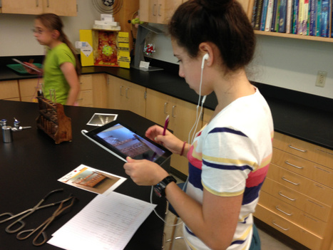 Augmented Reality in the Science Classroom | Toys + Technology + Education | Scoop.it