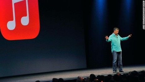 Apple arrives (late?) to music streaming with iTunes Radio - CNN International | Entertainment Education | Scoop.it