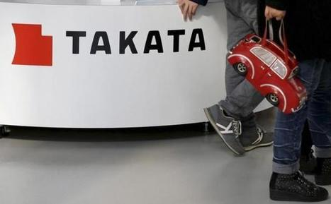 Takata booking over $156 million in additional loss for air bag recalls - Reuters   Backstabber Watch   Scoop.it