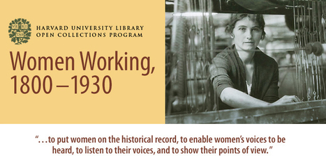 Open Collections Program: Women Working - , 1800–1930 | Historie - ideer, ressourcer mm | Scoop.it