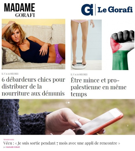 "Bienvenue à ""Madame Gorafi"" 