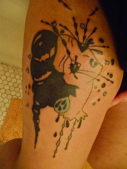 Cool tatt - Camille Rose Garcia | Amor Enim Artis (For the love of art) | Scoop.it