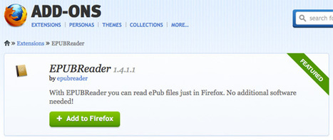 How to Read .ePub Ebooks on Firefox and Chrome [Quicktip] | Magia da leitura | Scoop.it