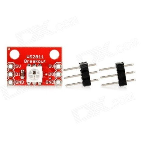 WS2812 RGB LED Breakout Module for Arduino - Red | Raspberry Pi | Scoop.it