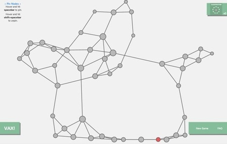 Network visualization game to understand how a disease spreads | operationalizing complexity | Scoop.it