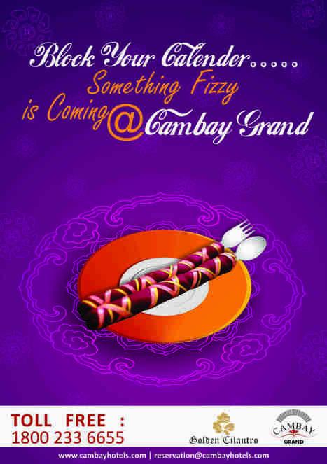 Something Special  is coming…. #Navaratri2014 #CambayGrand #GoldenCilantro | Cambay Hotels & Resorts | Scoop.it