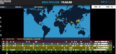 Historia de la población mundial | Recursos Educativos para ESO, Geografía e Historia | Scoop.it