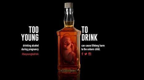 Feti in bottiglia, gli spot contro l'alcol in gravidanza | Dr Elena De Franceschi | Scoop.it