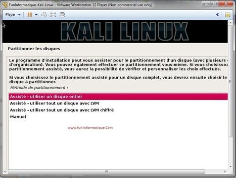 Faire fonctionner Kali Linux sous Windows avec VMware | Au fil du Web | Scoop.it