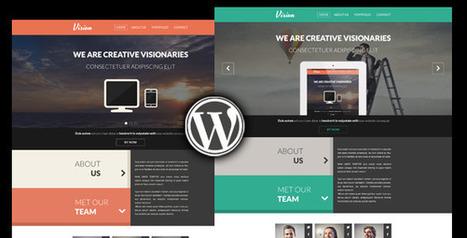 Vision - One Page Creative Wordpress Theme - WordpressThemeDB | WordpressThemeDatabase | Scoop.it