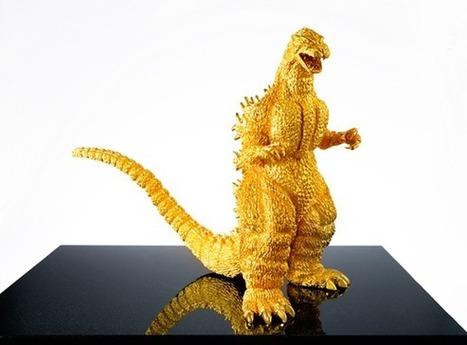 Pure gold Godzilla statue costs a fortune | Diamonds, Gold & Jewellery | Scoop.it
