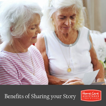The Health Benefits of Sharing Your Story | Home Care Assistance of Bloomfield | Scoop.it