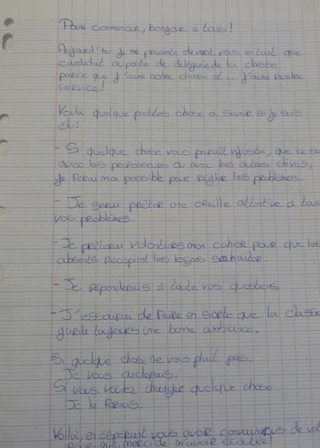 Enseigner Histoire Géographie (Hist-Géo-EC) 6e - Elections des délégués de classe | Revue de tweets | Scoop.it