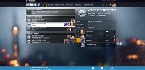 Battlefield 4 Blog #13 – nový Battlelog | Battlefield 4 novinky | Scoop.it
