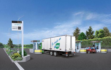 (94) La plus grande station française de GNV inaugurée à Bonneuil-sur-Marne | L'Antenne | PSN - Filière Logistique-Portuaire | Scoop.it
