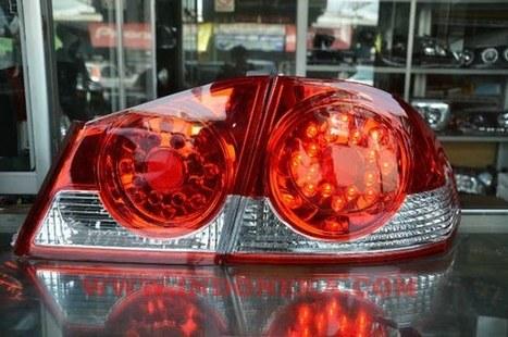 jual STOPLAMP NEW CIVIC 2007 RED | Aksesoris Mobil Honda | Scoop.it