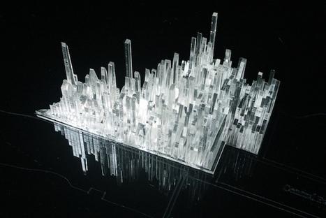 This Crystalline Sculpture Visualizes Manhattan's Musical History | The Creators Project | DESARTSONNANTS - CRÉATION SONORE ET ENVIRONNEMENT - ENVIRONMENTAL SOUND ART - PAYSAGES ET ECOLOGIE SONORE | Scoop.it