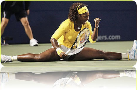 Pilates Improves Tennis Super Star's Bottom Line | A Stronger Life Through Pilates and Yoga | Scoop.it